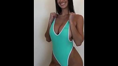 One piece swimsuit models showing off (HD//SMARTPHONE//PMV)