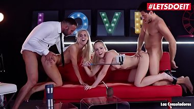 LETSDOEIT - Horny Swingers Swap Their Sexy Babes In Kinky Foursome