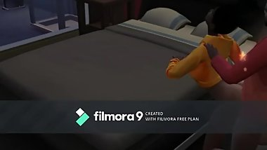 Dinayo spanked and fucked: Sims 4- Daddy's little girls