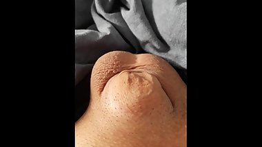 Sissy's clitty coming out to say hello! ♥