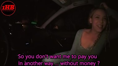 Public Real Taxi - 01 - She didn't have money for the ride
