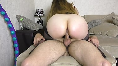 Young Teen Rides a Friend's Dick After School - amateur big ass riding