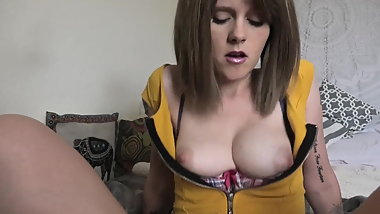 Sydney Harwin beautiful POV bouncy Tits