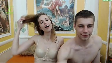 Teen couple Jenifer and Deyman HD 22 Jun