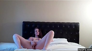 Home Made Solo Video From Slutty Babe