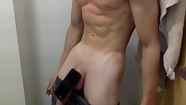 Smooth Muscle Jock Bounces Phone