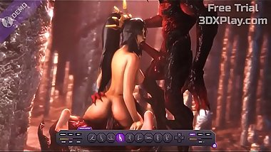 Diablo III Porn Li-Ming x Monster Blowjob Sucked Big Cock