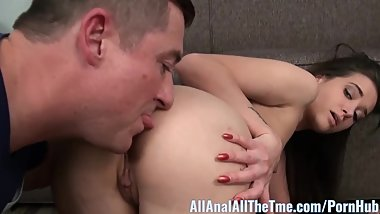 Cute Teen Gia Paige Gets Tight Ass Filled With Cum. AllAnal!