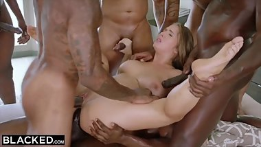 BBC Gangbang & Humiliate White Cunts PMV Compilation