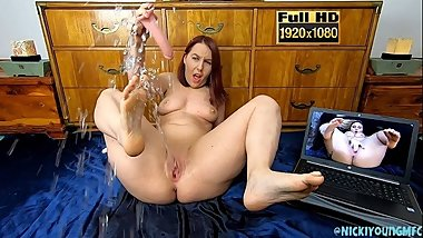 Epic Squirting Explosion - 50+ Squirts