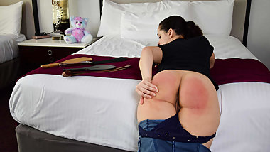A Humiliated Daughter - (Spanking)