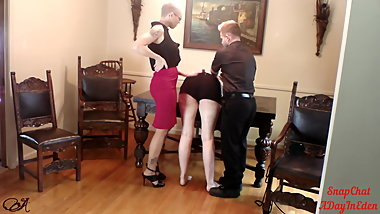 A Taste of Spanking the Harlot Part 1