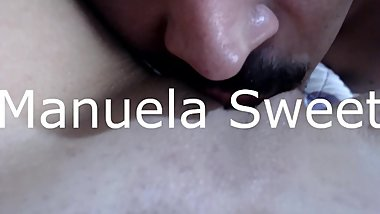 Oral with cum on face
