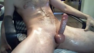 big shoot from big white dick