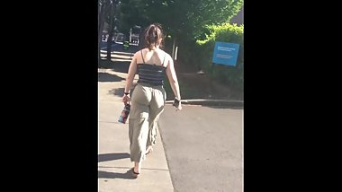 College PAWG Walks to Dutch Bros