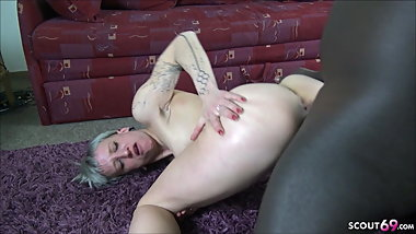 SKINNY GERMAN PUNK TEEN Seduce to Fuck by BBC Interracial