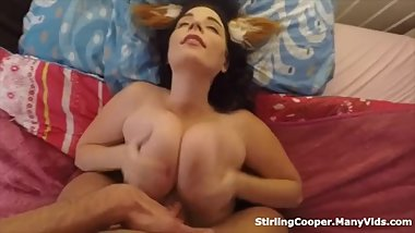 Fairy Princess Gets Cum Between Her Tits