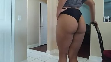 Bubble Butt femboy showing off his ass and tits for daddy