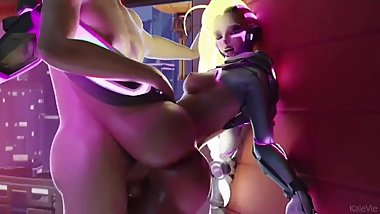 Sombra Standing and Fucked in Front of Window