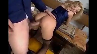Naughty Amateur Blonde Enjoying Very Big Cock In Virgin Ass