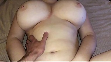 Big dildo vs Real dick (Home video)