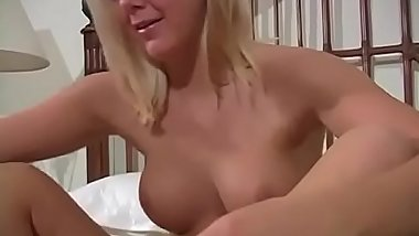 This Delightful Blonde Haired British Bitch Pantyhose Stocking Teen Feet And Pussy Tease