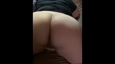 Latina BBW twerking with wet pussy