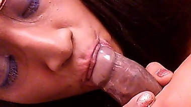 First BBC  Love sucking cock (Selena Black)