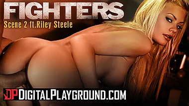 Digitalplayground - Big tit blonde pornstar Riley Steele's gets cum covered