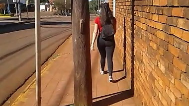 Nice curvy hard ass in Argentina