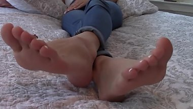 Amateur feet worship