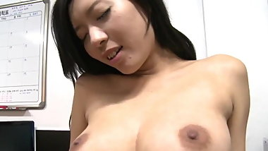 Korean Striptease In Workplace Then Get Fucked