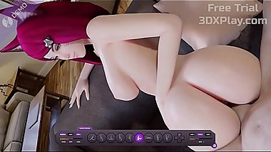 LEAGUE OF LEGENDS PORN AHRI FUCKED BIG COCK