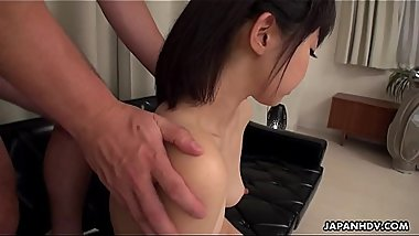 Japanese chick, Tomoyo Isumi does position 69 and fucks, uncensored