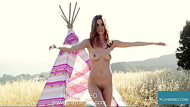 Naked Nude Porn Photoshoot Public www.playbimbo.com