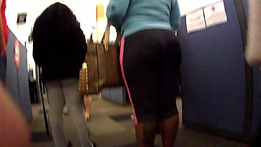 Thick Ebony girl at orientation
