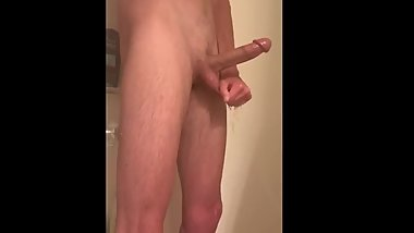 Caught On Spy Cam While Showering and Jacking Off