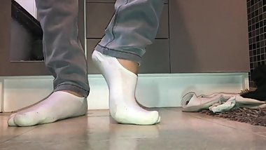 Sexy teen ankle socks and feet ❤️