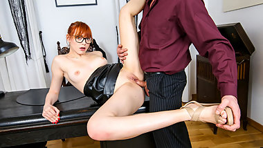 LETSDOEIT - Dirty Office Affair with Nympho Teen Secretary