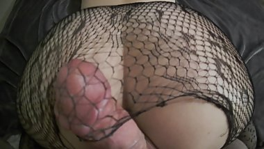 Fishnets Ripped - Sexy College Girl Gets Fucked POV