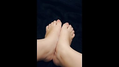 Foot Fetish - Massage with Lubricant