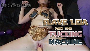 Slave Leia & the Fucking Machine (POV)  May the Fourth be with You!