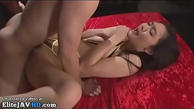 Japanese young model hardcore gangbang