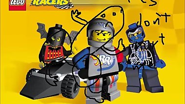 COCK AND BALLZ BUT ITS LEGO RACERS
