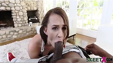 Alex More Taking Huge Browny Dick