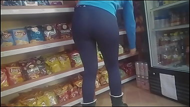 Worker girl at gasstation