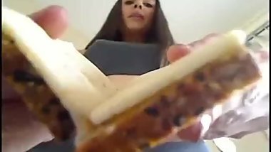 CLASSIC GIANTESS VIDEO: Ceara Lynch makes a sandwich of YOU [POV]