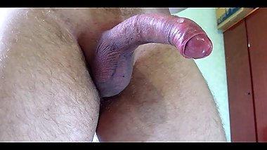 MY HUGE DICK CUMSHOT BY A SPERM FOUNTAIN