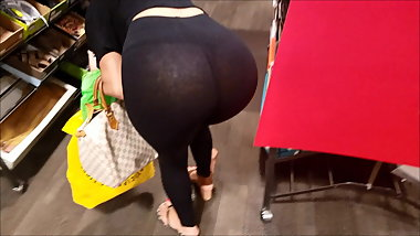 see through leggings thong