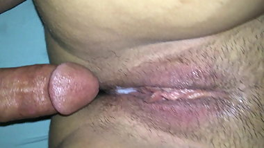 Old Man Fucks Young Teen's Creamy Wet Pussy